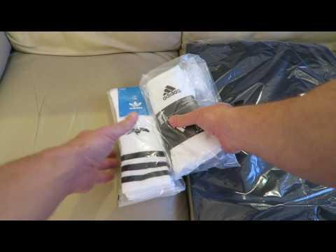 9d9d8a9fae9d8b Adidas Originals Adiletten and Stance Boneless Socks · Adidas ORIGINALS  CREW SOCKS 3 PAIRS S21489 Unboxing
