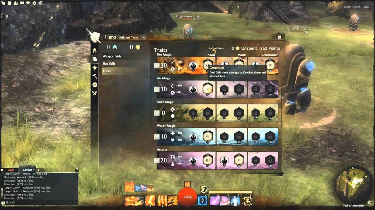 Guild Wars  Elementalist Build