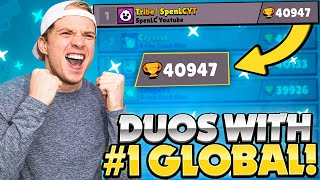 DUO SHOWDOWN with the #1 PLAYER in BRAWL STARS!