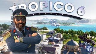 Обзор Tropico 6 — От колонии к независимости! #1