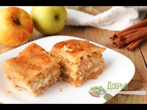 кекс с яблоками рецепт с фото пошагово
