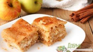 Насыпной яблочный пирог - рецепт. Насыпной пирог с яблоками(Насыпной яблочный пирог очень прост в приготовлении. Не нужно возиться с тестом! Насыпаешь ингредиенты..., 2013-11-28T10:42:37.000Z)