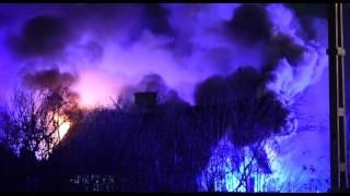 Två döda efter kraftig villabrand i Kågeröd vid Svalöv