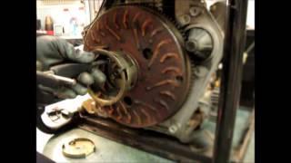 РЕМОНТ ГЕНЕРАТОРА  9 л.с.  Двигатель 186FA\E Заклинил\ Repair of diesel generator 9 HP