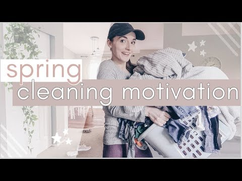 *early* SPRING CLEAN WITH ME! 2019 | All-Day cleaning motivation! | Natalie Bennett