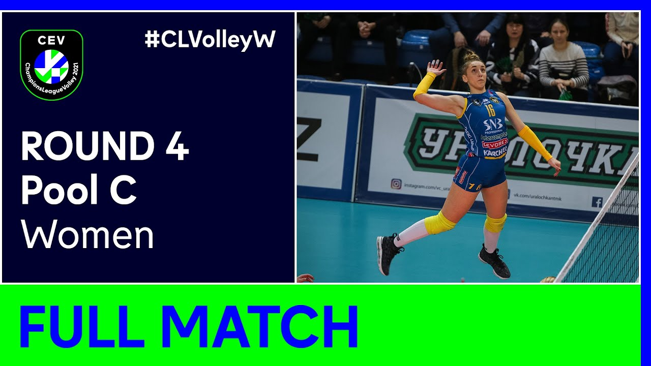 VC Maritza PLOVDIV vs. ASPTT MULHOUSE VB - CEV Champions League Volley 2021 Women Round 4