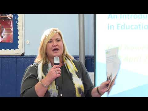 Launch event for HGIOURS - Gayle Gorman, CEO Education Scotland
