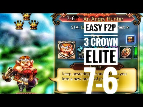 Lords Mobile F2P Elite Chapter 7-6