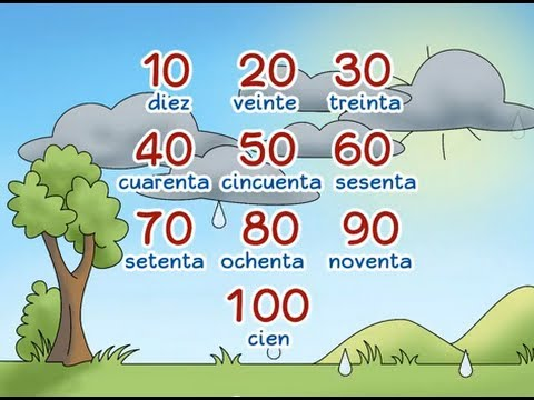 "Learn to count by tens: ""Gotas de diez en diez"" - Calico Spanish Songs for Kids"