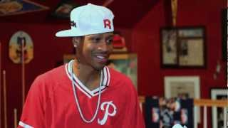 """Allen Iverson discusses """"Only The Strong Survive"""" Tattoo"""