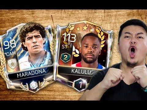 S2 IS HERE!! RANKING UP NEW VSA KALULU + PRIME ICON MARADONA!! FIFA MOBILE S2
