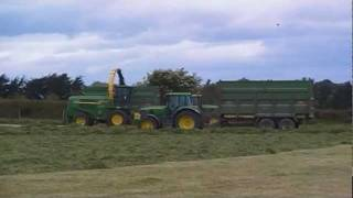 Lloyd Forbes at silage 2011 Co.Cork