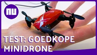 Hoe vliegt en filmt deze goedkope kleine drone? - Prul of Praal? #51