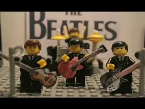 LEGO Beatles(i saw her standing there)