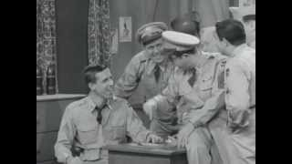 """Sergeant Bilko - Fred Gwynn is """"The Stomach"""""""