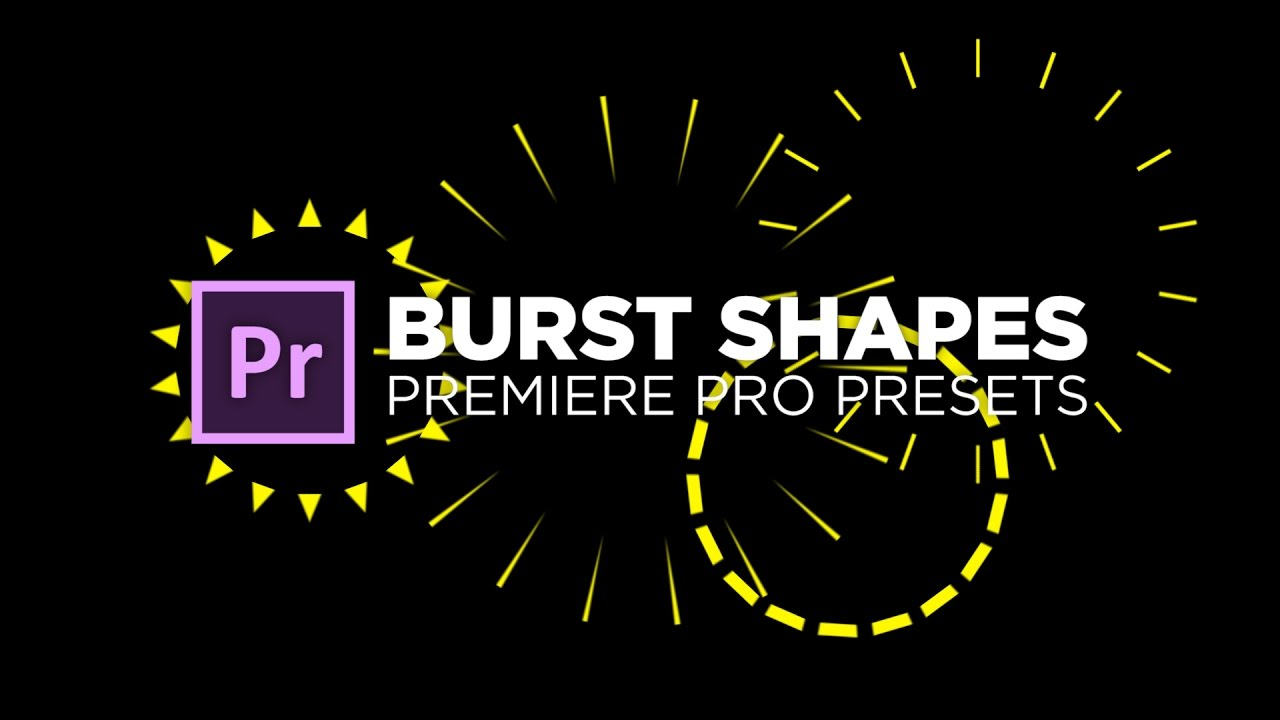 how to add shapes to premiere pro