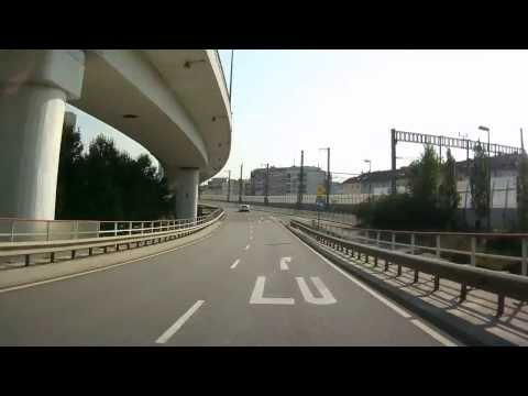 B37+B44 Ludwigshafen / Mannheim, Germany elevated highways