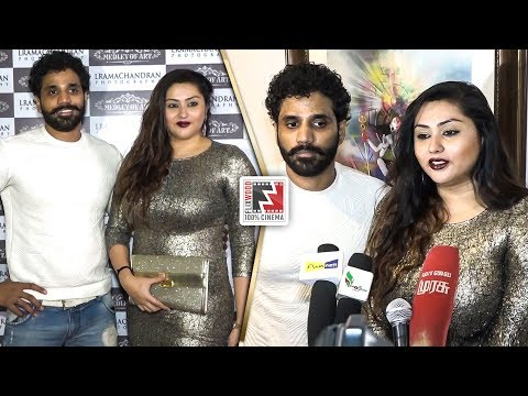 Namitha and Veer Latest Video   Medley Of Art - Gallery Exhibition   L.Ramachandran    Flixwood