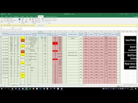 10ders bidder tutorial 3 - evaluators