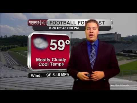 Ball State vs. Ohio Game Day Forecast