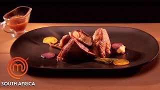 Recreating A Pan Roasted Duck Dish | MasterChef South Africa | MasterChef World
