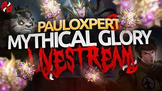 ⭕ TIME TO GRIND | GOSU PAULO | ALL-ROLES | MOBILE LEGENDS