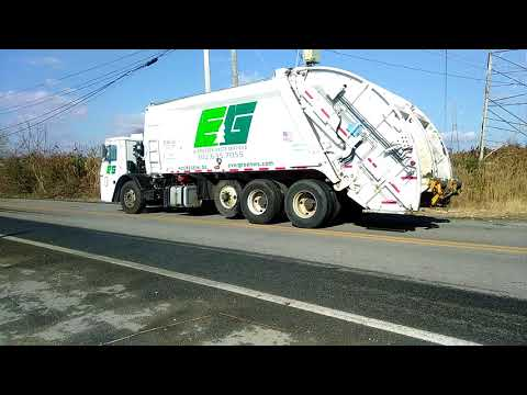 Trains And Lots Of Garbage Trucks Youtube