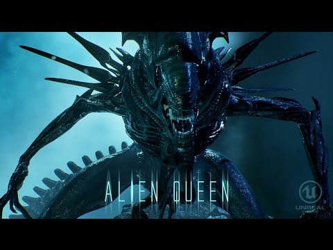 Alien Queen - Realtime On Unreal Engine 4