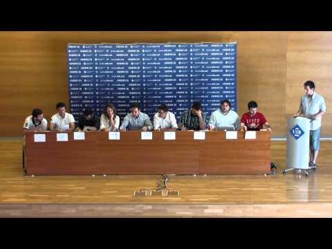 Debat del Consell d'Estudiants amb motiu de les eleccions del 24M
