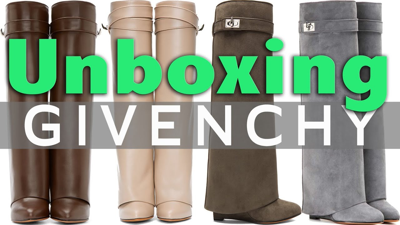 UNBOXING: Givenchy Shark Lock Boots