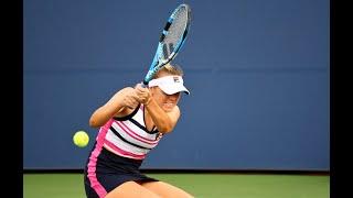 Sofia Kenin vs. CoCo Vandeweghe | US Open 2019 R1 Highlights