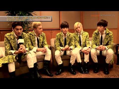 Nu'Est's interview with Imagine TV Network