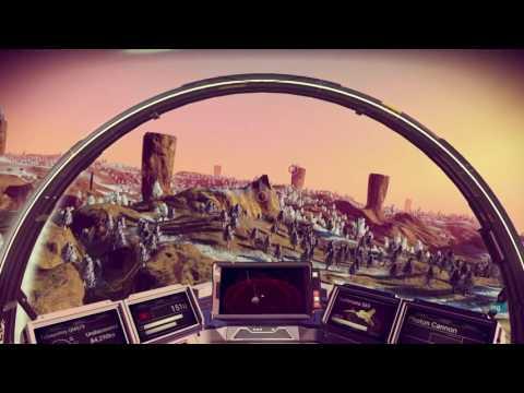 No Man's Sky planet hopping