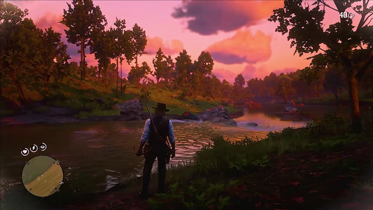 Sons da natureza no Red Dead Redemption 2