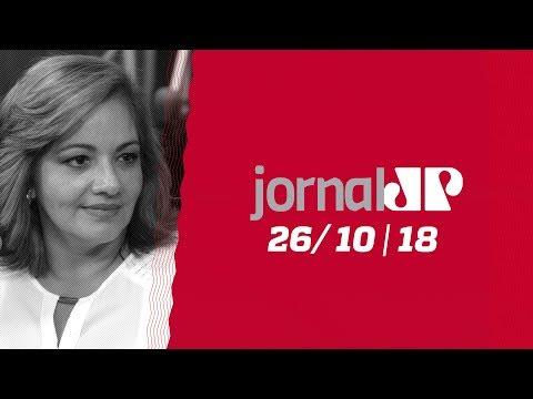 Jornal Jovem Pan  - 26/10/18