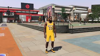 I CREATED LEBRON JAMES EXACT BUILD on NBA2K20 - FULL BUILD + FIRST GAMEPLAY