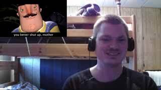 HH's Blind Reaction to Bendy Vs Freddy Fazbear vs Mama Tattletail vs Hello Neighbor   Rap Battle
