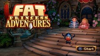 Fat Princess Adventures Co op HD PS4 Gameplay