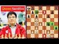 Vietnamese Chess Grandmaster Faces A Brutal Queen Sacrifice