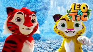Leo and Tig 🦁 Episode 15 - New animated movie - Kedoo ToonsTV