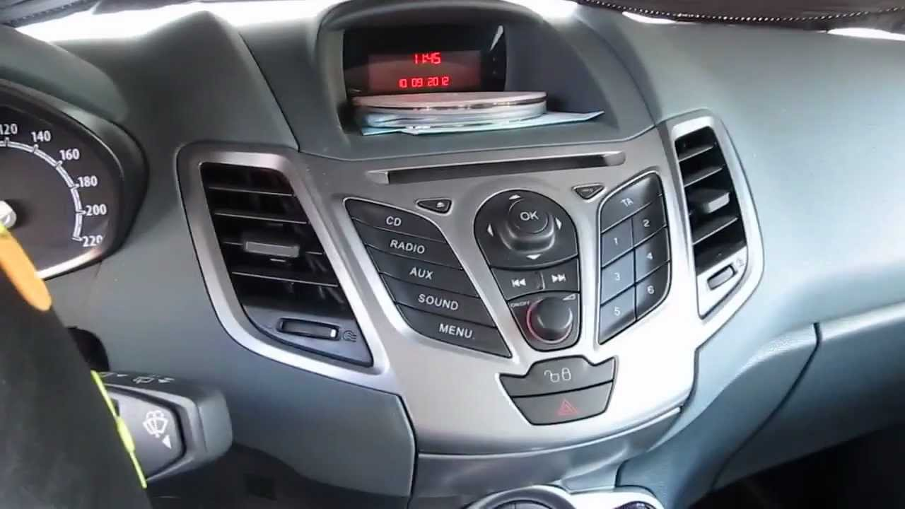 2011 Ford Fiesta Look And Start Hd Youtube