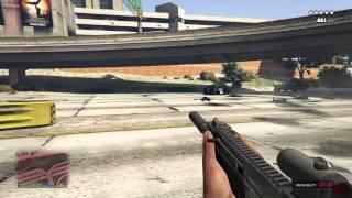 Gta 5 Ps4 - Explosive Bullets Fun