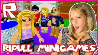 Ripull Minigames - BOUNCY TRAMPOLINE | Roblox