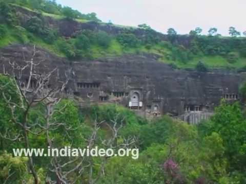 Waghora River at Ajanta Cave, Aurangabad