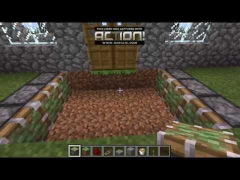 Trampa Para Defender Tu Casa De Mobs Minecraft Youtube