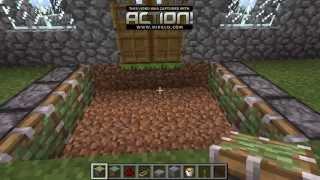 Trampa para defender tu casa de mobs Minecraft