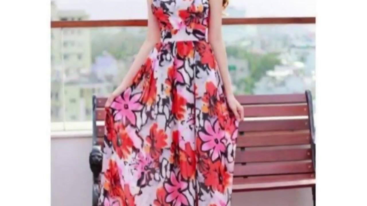 Tốp 20 mẫu Đầm Maxi đẹp năm 2018👗