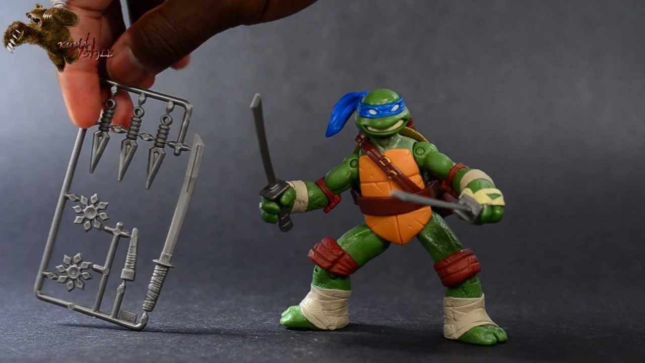 Toy Review Playmates Nickelodeon Tmnt 2012 Leonardo Youtube