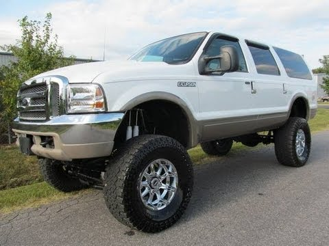 2001 ford excursion limited 10 inch lift lifted truck 4 sale youtube. Black Bedroom Furniture Sets. Home Design Ideas