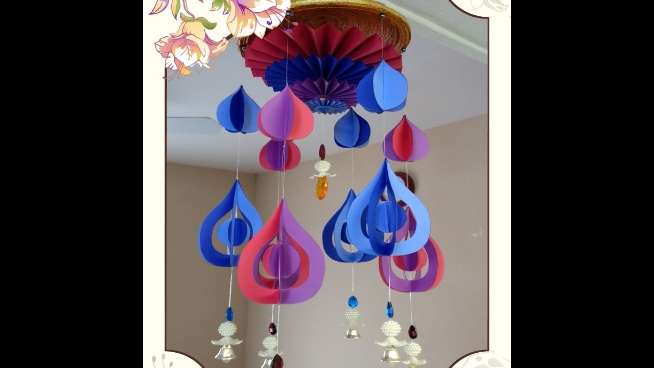 #diy Art And #craft #tutorial : DIY Wind Chime Part 3 Of 4